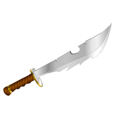 fantasy knife vector image vector image