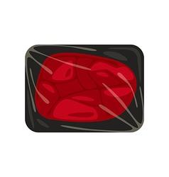 Stock beefsteak vector image