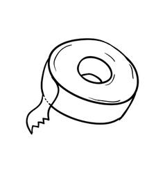 Tape icon instrument design graphic vector