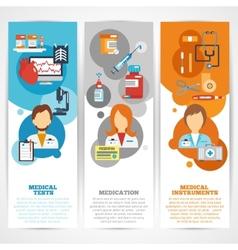 Doctor Banner Set vector image