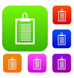 Document plan set collection vector