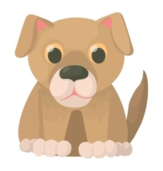 Dog icon cartoon style vector image