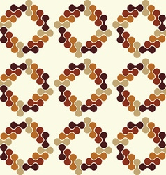 seamless wallpaper vector image vector image