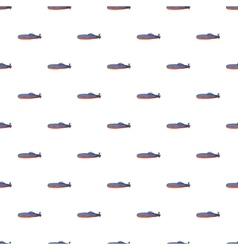 Submarine pattern cartoon style vector