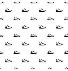 sneaker pattern vector image
