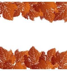 autumn grunge background vector image