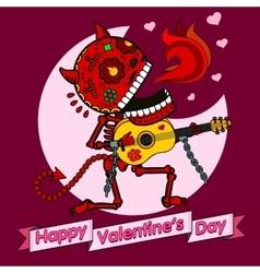 ard Happy Valentine s Day vector image vector image