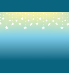 Falling star line tropical abstract background vector