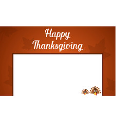 Happy thanksgiving card style collection vector