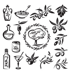 olive graphics vector image vector image