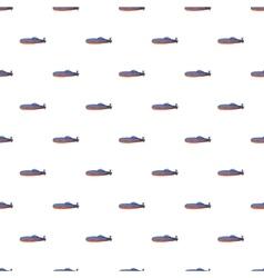 Submarine pattern cartoon style vector