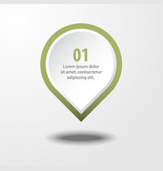 Business infographics design element vector