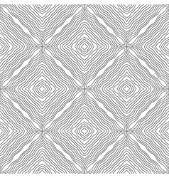 Black and white abstract pattern for colouring vector