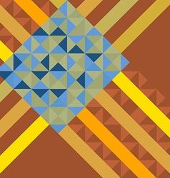 Abstract multicolor square backgroun vector