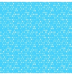 Cute blue and white dotted seamless pattern vector