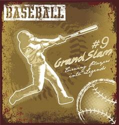 baseball classic sport vector image