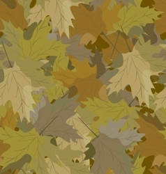 Camouflage background maple vector