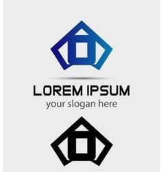 Letter o logo icon design template vector