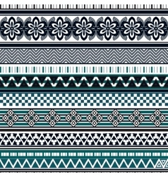 Tribal seamless pattern Abstract background with vector image vector image