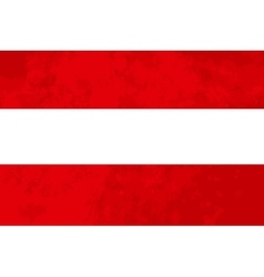 True proportions Austria flag with texture vector image vector image