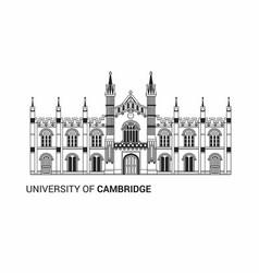 University of cambridge flat vector