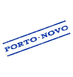 Porto-novo watermark stamp vector