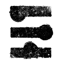 Abstract Distress Borders vector image