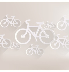 Hipster retro bicycle icon vector
