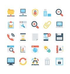 Internet icons 1 vector