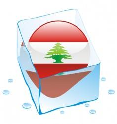 Lebanon flag vector image vector image