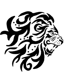 The Lion Pattern vector image vector image