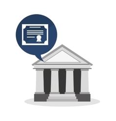 University emblem education icon vector