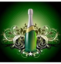 Champagne celebrate vector