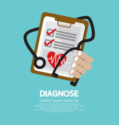 Diagnosis vector