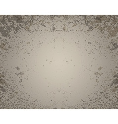 Grunge brown wall background vector image vector image