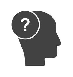 questioning skills vector image