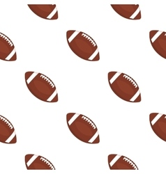 Rugby ball icon cartoon Single sport icon from vector image