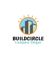 Build circle design vector
