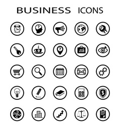 Business icons stock vector
