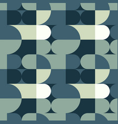 Circle squares irregular seamless pattern vector