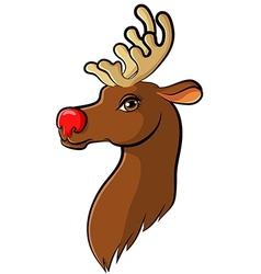 Deer cartoon vector