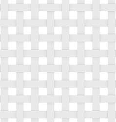 White paper lattice abstract seamless Monochrome vector image