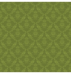 damask seamless floral pattern vector image