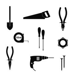 Work tool icon set vector