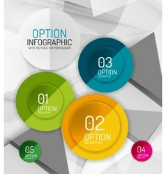 Fresh business abstract infographics vector