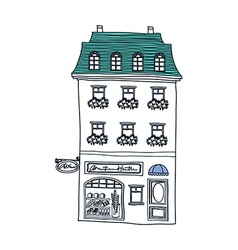 A house stand on vector image