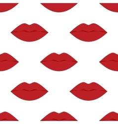 Cool sexy seamless lips vector