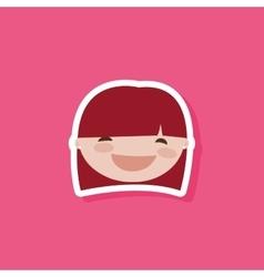 Cute Cartoon child vector image