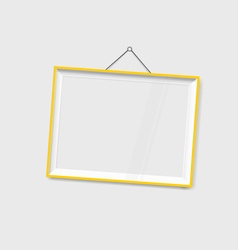 Modern frames on the wall vector image vector image