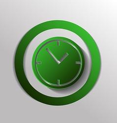 Clock watches icon vector